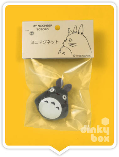 "HEADER BAGGED Sun Arrow x Studio Ghibli : 1"" Studio Ghibli My Neighbour Totoro Magnet, very cute and ideal for holding your favourite pic to your frindge - moosedinky"