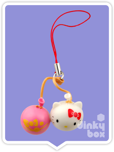 "OPEN PACKAGE Re-ment Hello Kitty Collectable Festival Charms : 1"" Kitty Ballons Charm (complete with all original packaging minus the candy) 15yrs+ - moosedinky"