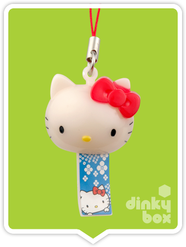 "OPEN PACKAGE Re-ment Hello Kitty Collectable Festival Charms : 1"" Kitty Head Charm (complete with all original packaging minus the candy) 15yrs+ - moosedinky"