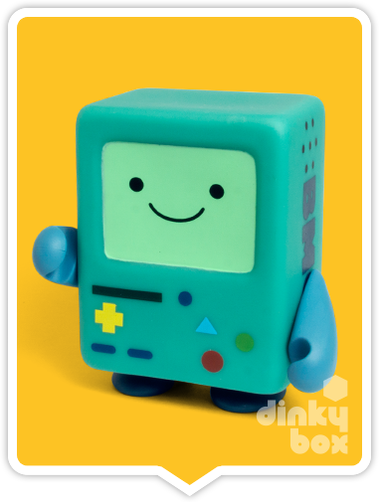 Kidrobot Adventure Time, blind boxed and open choice mini figures available to purchase in the UK. Here we have the adorable BMO character ready to post from our hands to your UK home – comes complete with all original packaging.