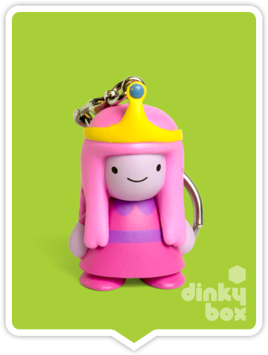 Kidrobot Adventure Time, blind boxed and open choice keychains available to purchase in the UK. Here we have the regal princess character (open packaging, new).