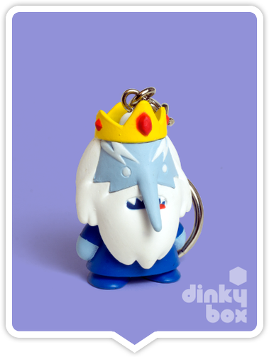 Kidrobot Adventure Time, blind boxed and open choice keychains available to purchase in the UK. Here we have the adorable ICE KING character (open packaging, new).