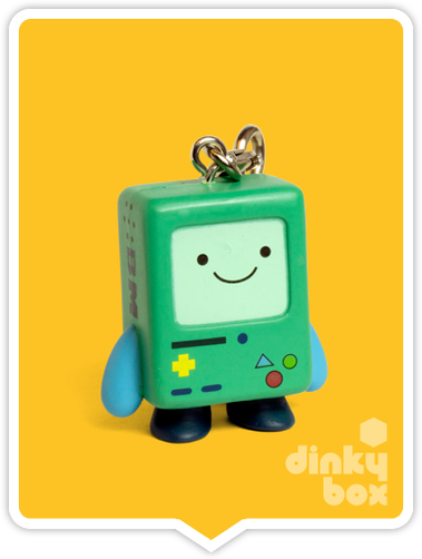 Kidrobot Adventure Time, BLIND BOXED and open choice keychains available to purchase in the UK. Here we have the adorable BMO character (open packaging, new).