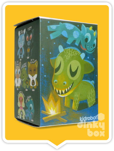 "OPEN BOX Kidrobot Amanda Visell Ferals : 3"" Krumpus mini figure 1/20 (complete with all original packaging) - moosedinky"