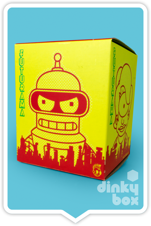 "BLIND BOX : Kidrobot Futurama 3"" Collectable Mini Figure - Just who will arrive at your UK home? 15yrs+ - moosedinky"