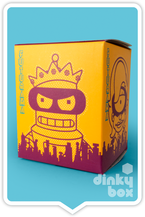 "OPEN BOX Kidrobot Futurama S2 : 3"" Capt. Yesterday (Fry) mini figure 3/20 (complete with all original packaging) - moosedinky"