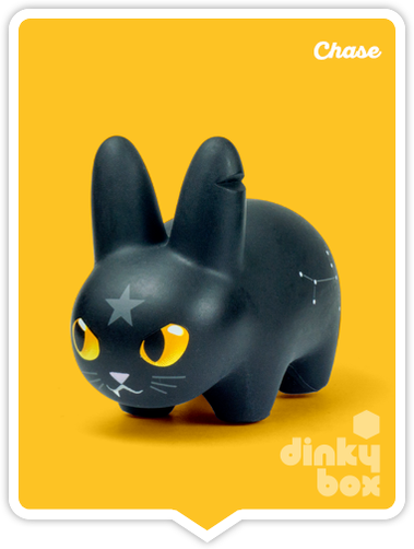 "OPEN BOX Kidrobot Kibbles 'N Labbit : 2.5"" Mystery Mystic Cat CHASE mini figure ?/?? (complete with all original packaging) + FREE POSTAGE - moosedinky"