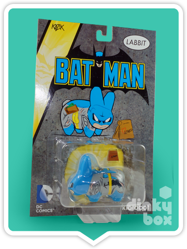 Kidrobot DC Comics Batman Frank Kozik Labbit availble to buy in the UK via dinkybox