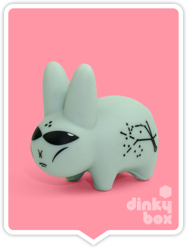 Kidrobot x Frank Kozik Lore of the Labbit Alien available to buy in the UK from dinkybox