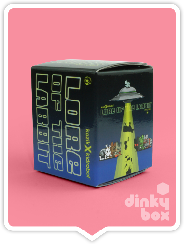 Kidrobot x Frank Kozik Lore of teh Labbit blind box available to buy in the UK from dinkybox