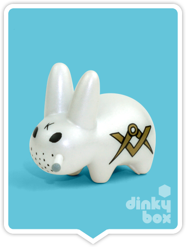 Kidrobot x Frank Kozik Lore of the Labbit Freemasons available to buy in the UK from dinkybox