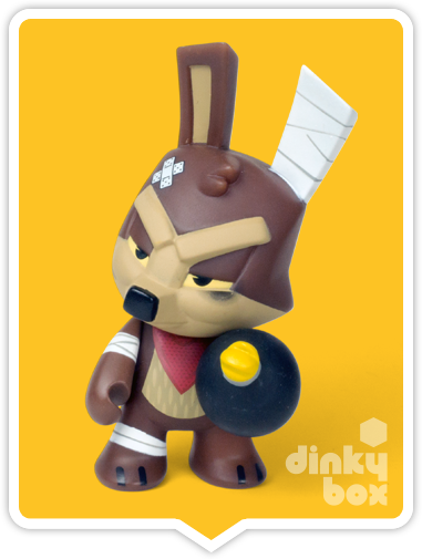 "OPEN BOX Kidrobot Looney Tunes : 3"" Wile E. Coyote mini figure 1/20 (complete with all original packaging) - moosedinky"