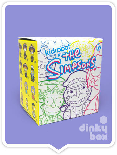 "OPEN BOX Kidrobot The Simpsons S2 : 3"" Dr.Nick mini figure 1/20 (complete with all original packaging) - moosedinky"