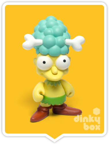 "OPEN BOX Kidrobot The Simpsons S2 : 3"" Sideshow Mel mini figure 1/20 (complete with all original packaging) - moosedinky"