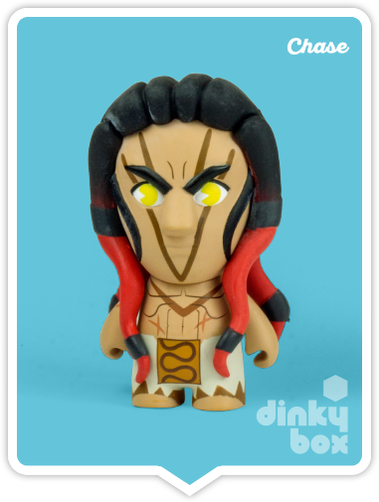 "OPEN BOX Kidrobot Street Fighter S3 : 3"" Necalli CHASE mini figure ?/?? (complete with all original packaging) + FREE POSTAGE - moosedinky"