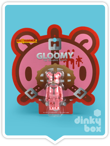"BLISTER PACKAGED : Medicom Kubrick Special Edition : 2.5"" Mori Chack Gloomy Bear Collectable Mini Figure + FREE POSTAGE - moosedinky"