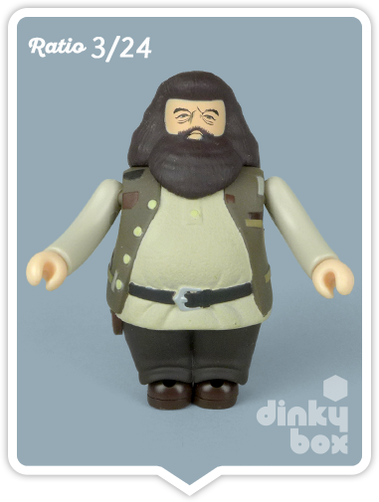 Hagrid mini figure collectable produced by Medicom Toys, Japan. Available to buy from dinkybox UK.