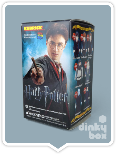 Lovely blind box Japanese packaging for Harry Potter Kubrick figure.
