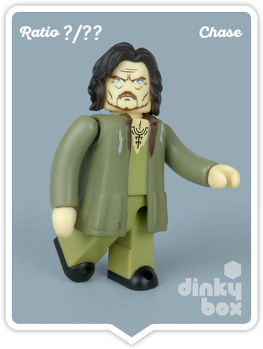 Mystery Sirius Black mini figure collectable produced by Medicom Toys, Japan. Available to buy from dinkybox UK.