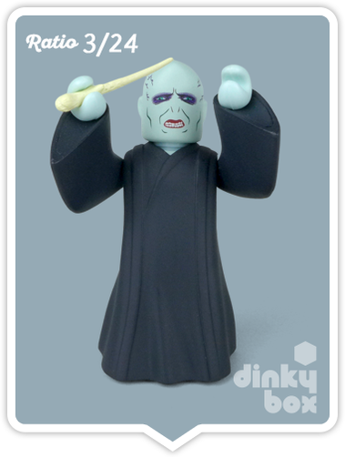 Voldermort mini figure collectable produced by Medicom Toys, Japan. Available to buy from dinkybox UK.