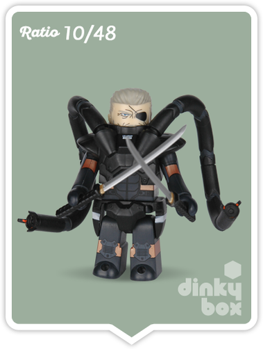 "Kubrick Metal Gear Solid open choice, pre-identified PMC Soldier 2.5"" mini figure available within the UK."