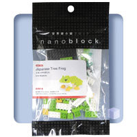 Nanoblock Tree Frog Japanese Packaging