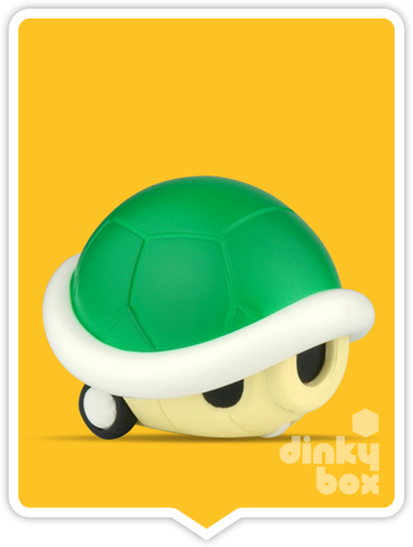 "OPEN GASHAPON BALL Nintendo Super Mario : 2"" Koopa Shell Pull Back & Go Mini Figure - moosedinky"