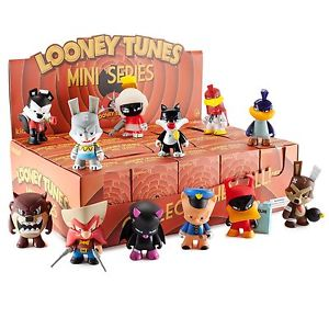 "OPEN BOX Kidrobot Looney Tunes : 3"" Porky Pig mini figure 2/20 (complete with all original packaging) - moosedinky"