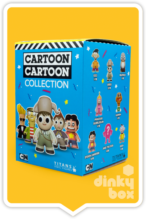 Cartoon Network W2 Packaging