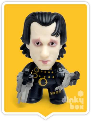 Titans Edward Scissorhands Edward 1 vinyl figure available to purchase in the UK via your friendly dinkybox store.
