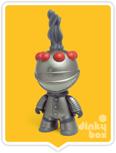 Titans Edward Scissorhands Cookie Cutter Robot vinyl figure available to purchase in the UK via your friendly dinkybox store.