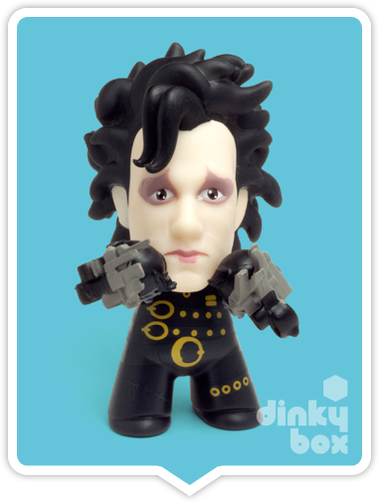 Titans Edward Scissorhands Edward 2 vinyl figure available to purchase in the UK via your friendly dinkybox store.