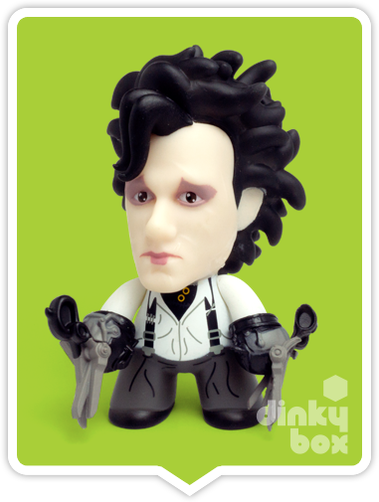 Titans Edward Scissorhands Edward 4 vinyl figure available to purchase in the UK via your friendly dinkybox store.