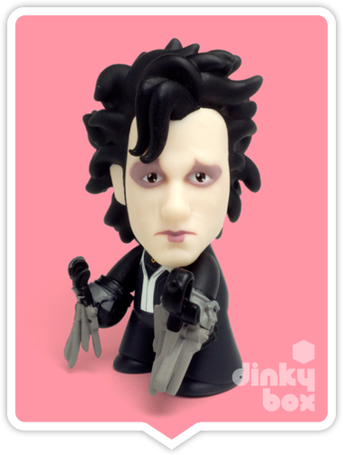 Titans Edward Scissorhands vinyl figure available to purchase in the UK via your friendly dinkybox store.