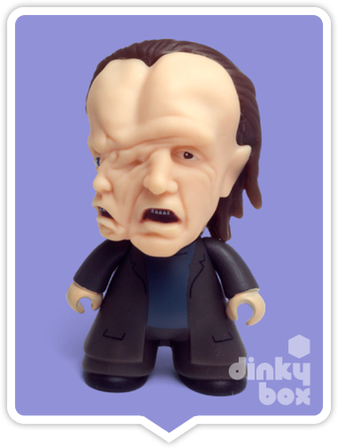 Titans X-Files Mutato vinyl figure available to purchase in the UK via your friendly dinkybox store.