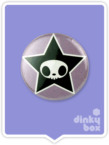 "LOOSE Badge Bomb Tokidoki Pin (Button Badge) : 1"" Adios Star 1547 (includes sharp metal pin for attaching to clothes) 15yrs + - moosedinky"