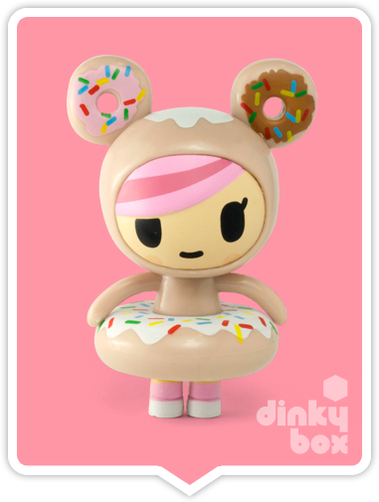 "OPEN BOX Tokidoki Donutella S1 : 3"" Donutella mini figure (complete with all original packaging) - moosedinky"