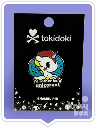 "CARDED Tokidoki Enamel Pin : 2"" Unicorno 15yrs+ - moosedinky"