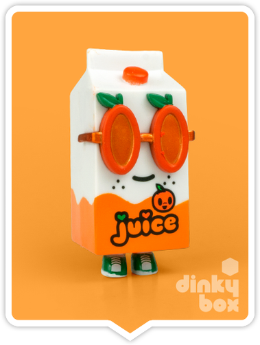 "OPEN BOX Tokidoki Breakfast Moofia : 3"" Juicy Juice (complete with all original packaging) - moosedinky"