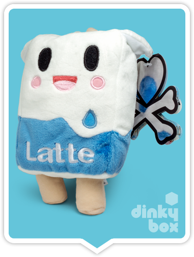 "LOOSE Tokidoki Moofia : 9"" Beautiful Latte Plush + Free Latte Sticker + FREE POSTAGE - moosedinky"