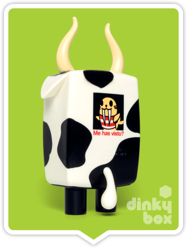 Buy your cute Half & Half figure at dinkybox.Even the back of this little Moofia has a rather cool graphic too!