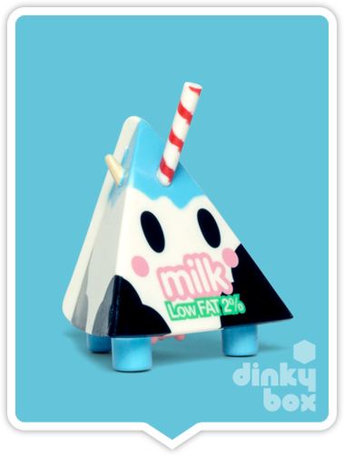 Tokidoki Moofia S1 Milk open choice mini figure available to purchase in the UK. You have to love that cheeky wink!