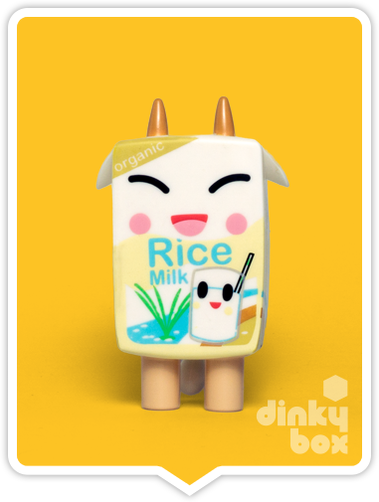 Tokidoki Moofia S1 Rice Milk open choice mini figure available to purchase in the UK. Loving the cute expression!