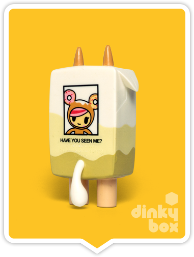 Buy your cute Rice Milk figure at dinkybox. Have you seen Donutella?