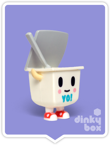 Tokidoki Moofia S1 Yo open choice mini figure available to purchase in the UK. Yog Yog Yum Yum!