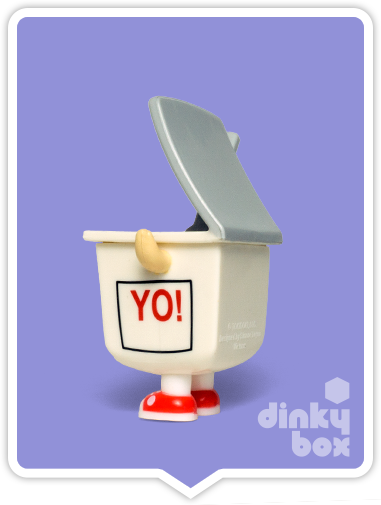 Buy your cute Yo figure at dinkybox. Come one, what adorable little shoes!