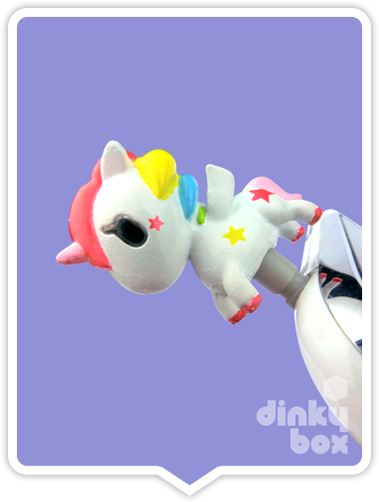 "OPEN PACKAGE Tokidoki Phonezies : 1"" Unicorno Stellina phone charm (complete with all original packaging) - moosedinky"