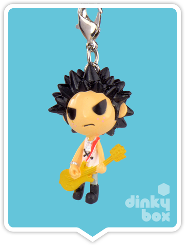 "OPEN BOX Tokidoki Punkstar Frenzies : 1.5"" Sid zipper pull / charm (complete with all original packaging) - moosedinky"
