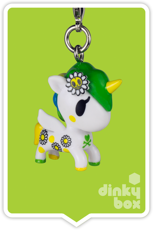 "OPEN BOX Tokidoki Unicorno Frenzies S2: 1"" Margherita zipper pull/charm (complete with all original packaging) - moosedinky"