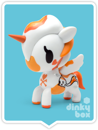 "OPEN BOX Tokidoki Unicorno S4 : 3"" Hikari (complete with all original packaging) - moosedinky"